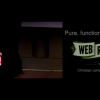 Pure, functional JavaScript /Christian Johansen – 35 min./